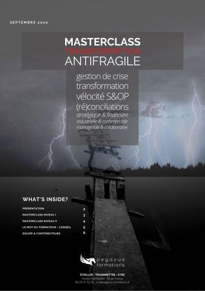 Transformation antifragile